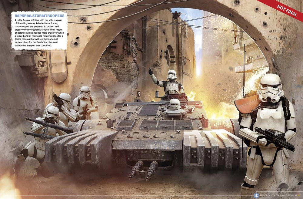 Stormtroopers in een nieuwe tank.