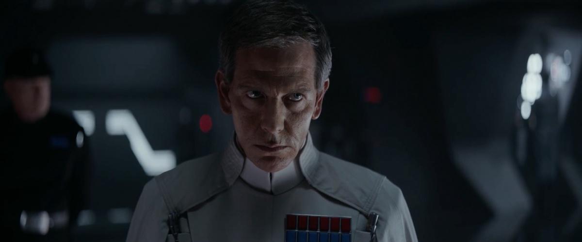 Director Krennic heeft een heerlijk intense blik!