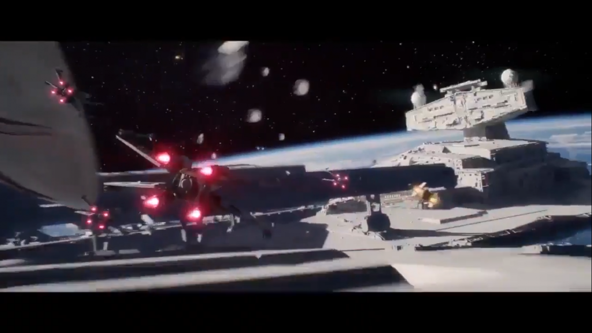 3 – X-wing vs SD