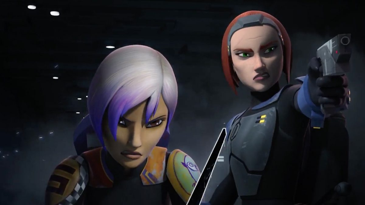 Sabine en Bo-Katan
