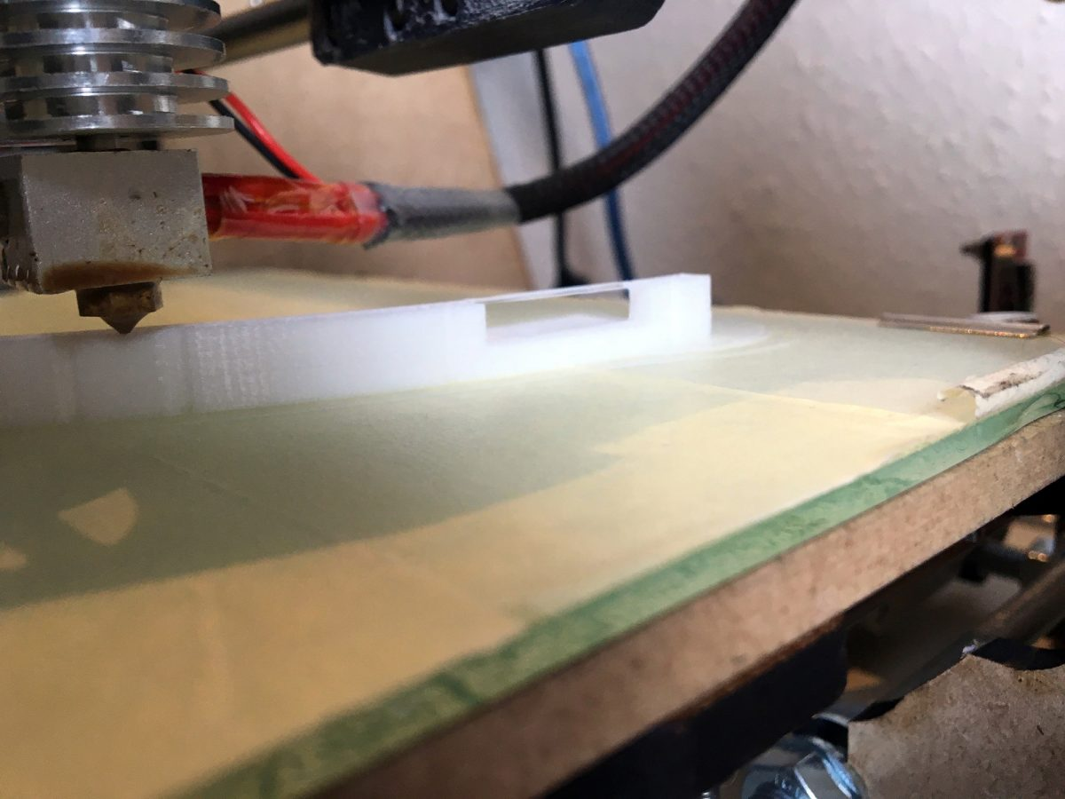 """Het """"bridgen"""" of overbruggen van lege ruimtes doet deze printer best aardig."""