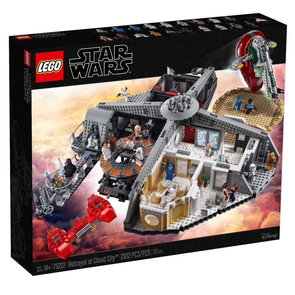 LEGO Cloud City set info & new LEGO book | Star Wars Awakens