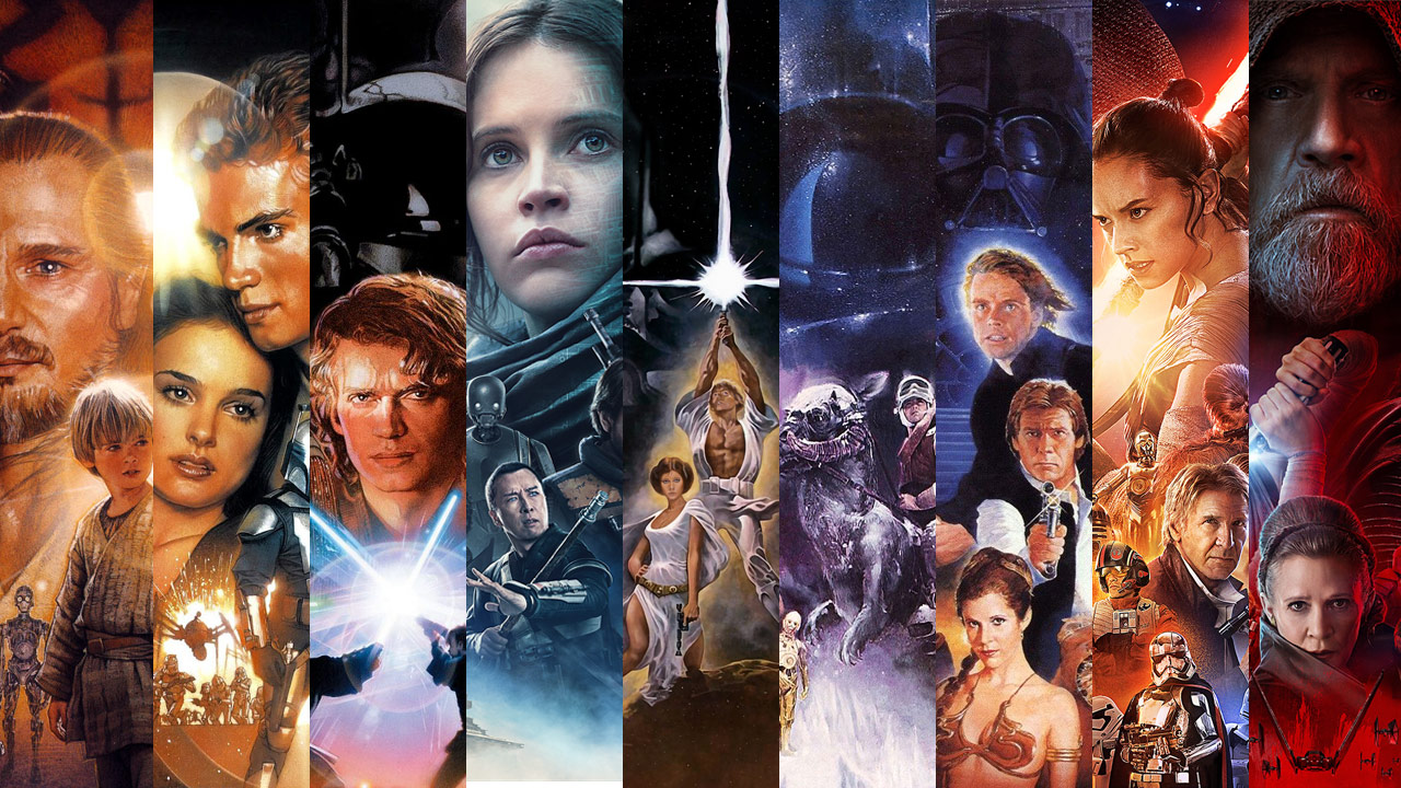 Star Wars films volgorde