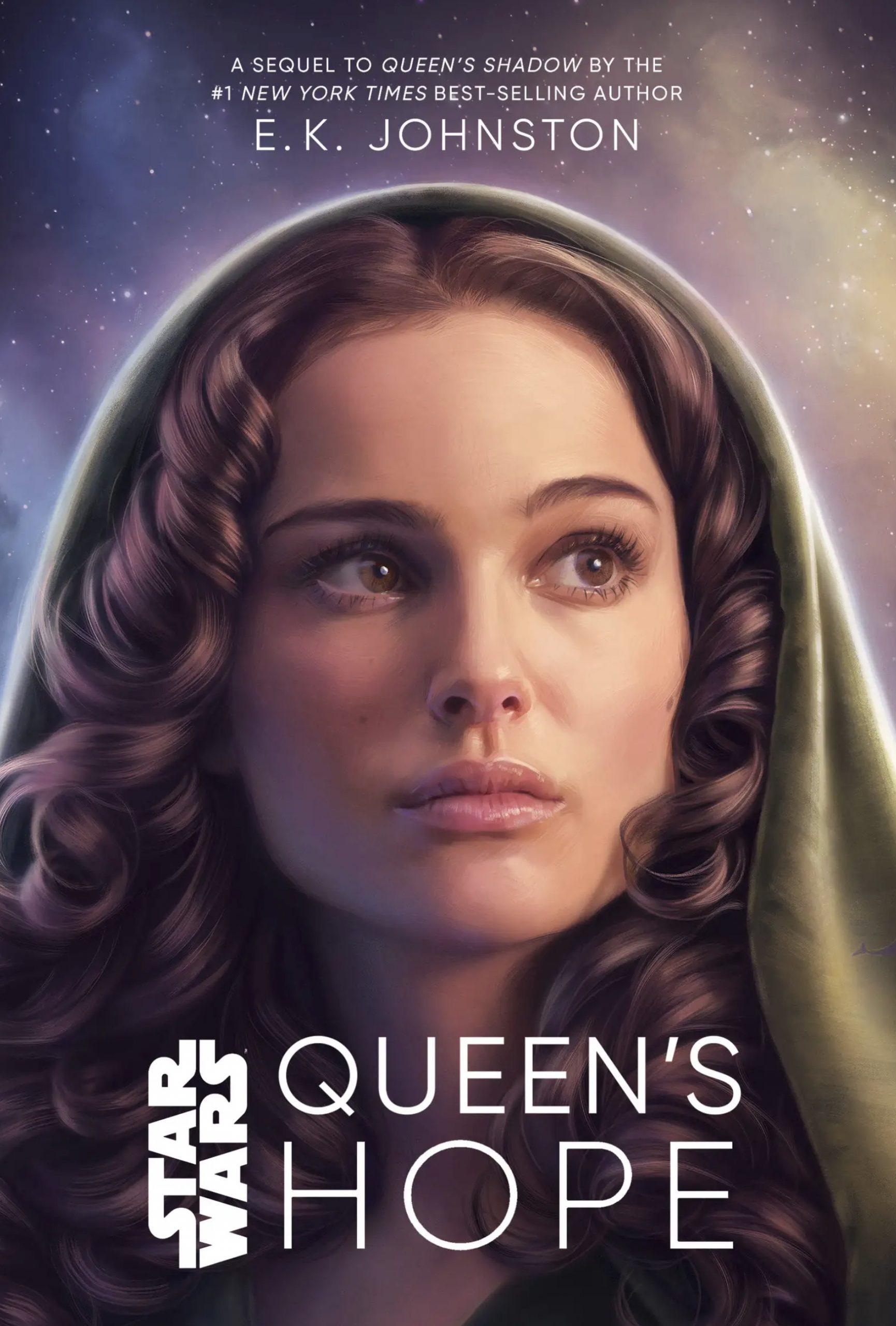 De cover van Queen's Hope, geïllustreerd door Tara Phillips.